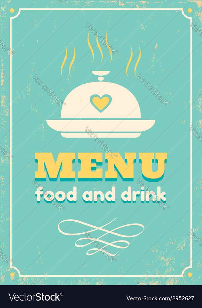 Menu grunge vector | Price: 1 Credit (USD $1)