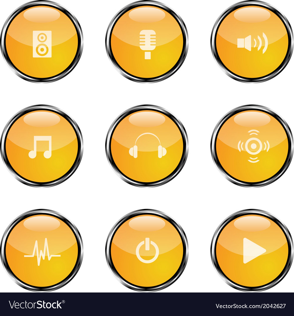 Orangeiconsound2 vector | Price: 1 Credit (USD $1)