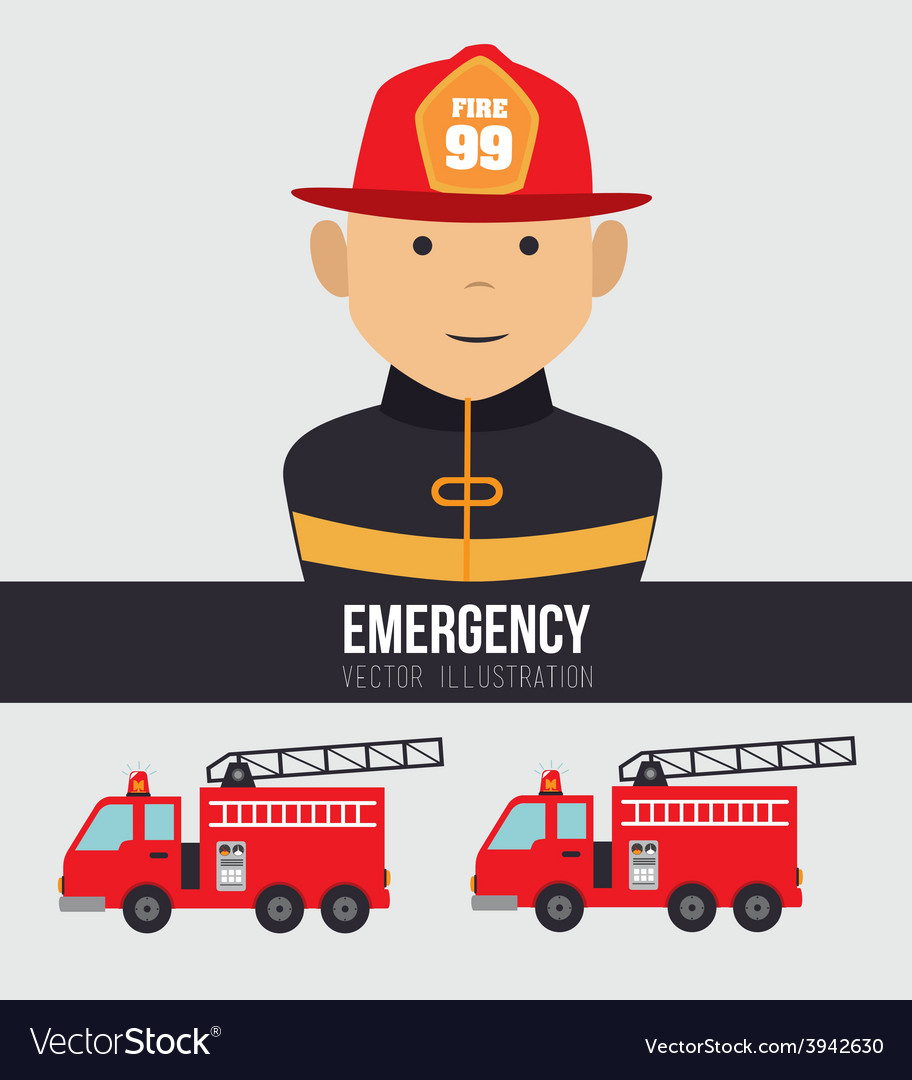 Emergency design vector | Price: 1 Credit (USD $1)