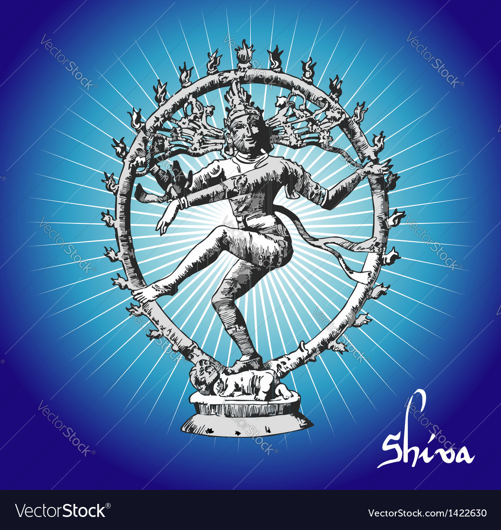 Shiva deity vector | Price: 1 Credit (USD $1)