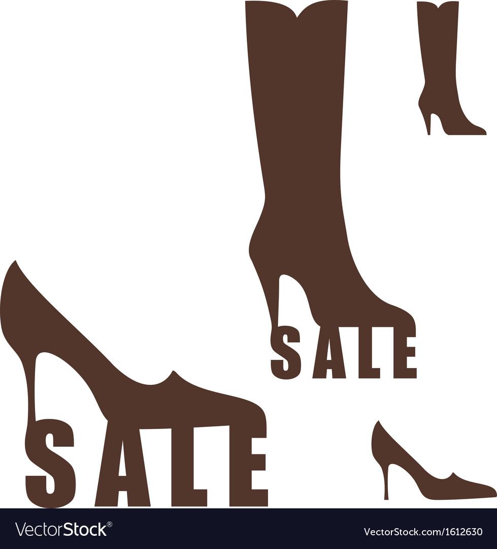 Shoe sale vector | Price: 1 Credit (USD $1)