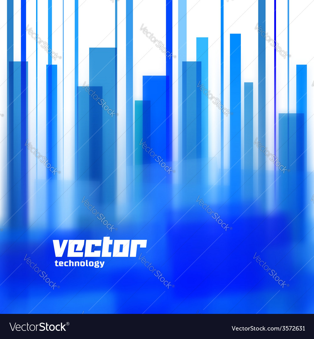 Background with blue blurred lines vector   Price: 1 Credit (USD $1)