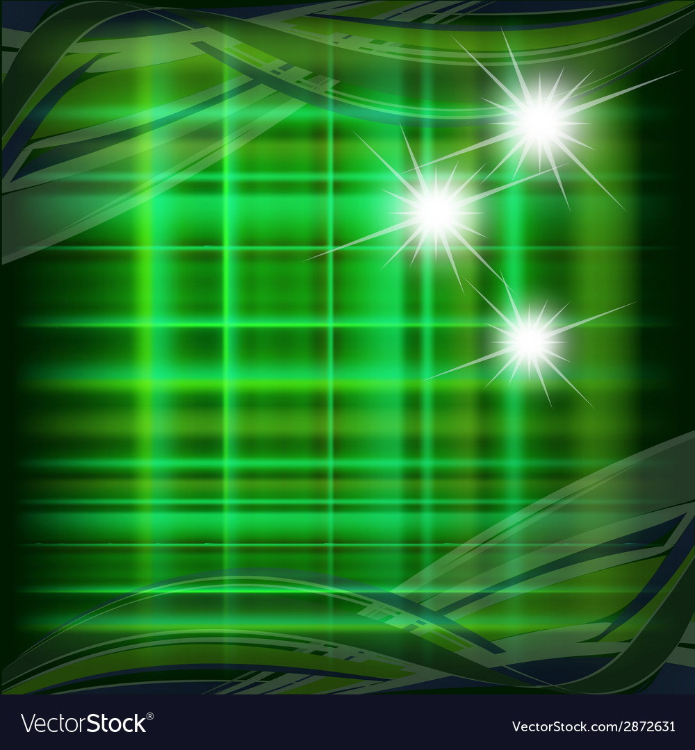 Green pattern with star dotted light vector | Price: 1 Credit (USD $1)