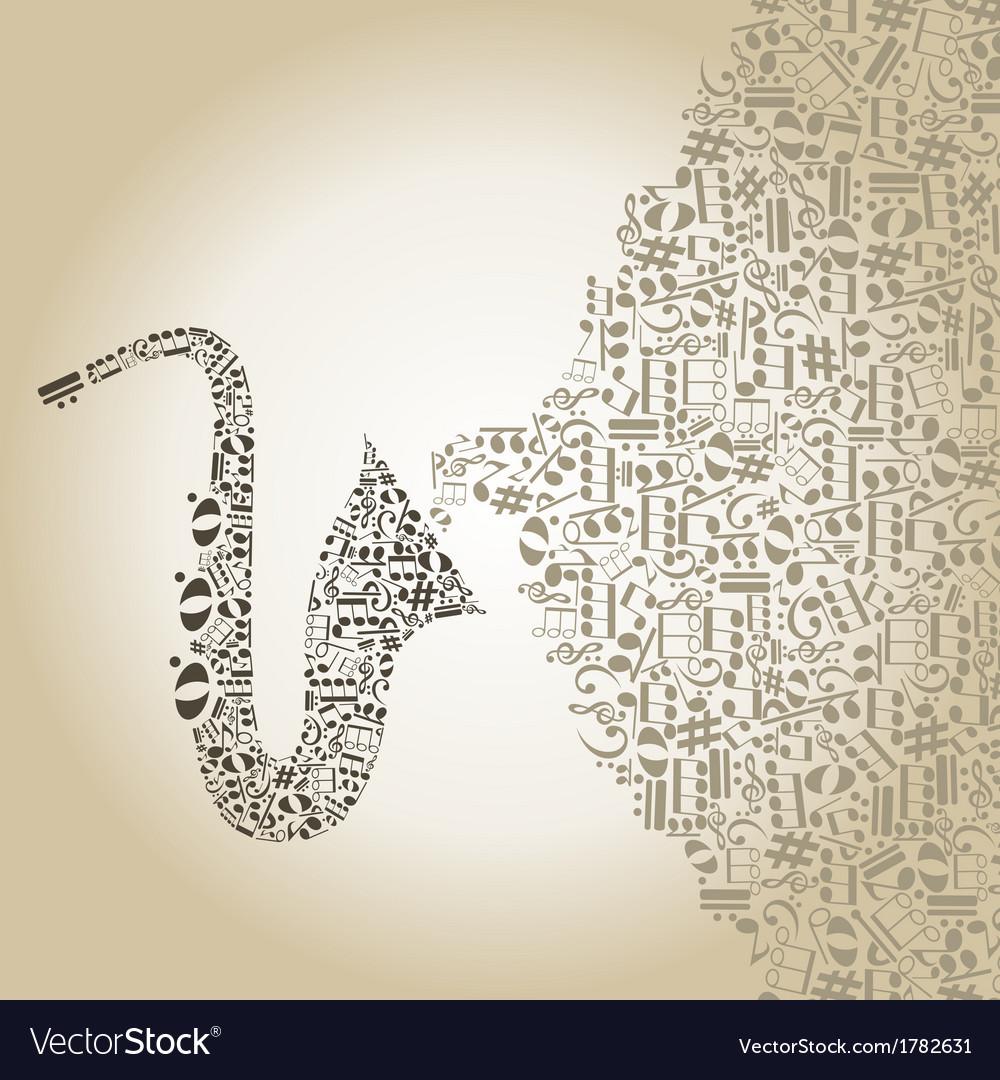Saxophone5 vector | Price: 1 Credit (USD $1)