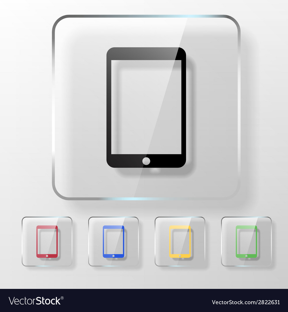 Touch pad icon vector | Price: 1 Credit (USD $1)