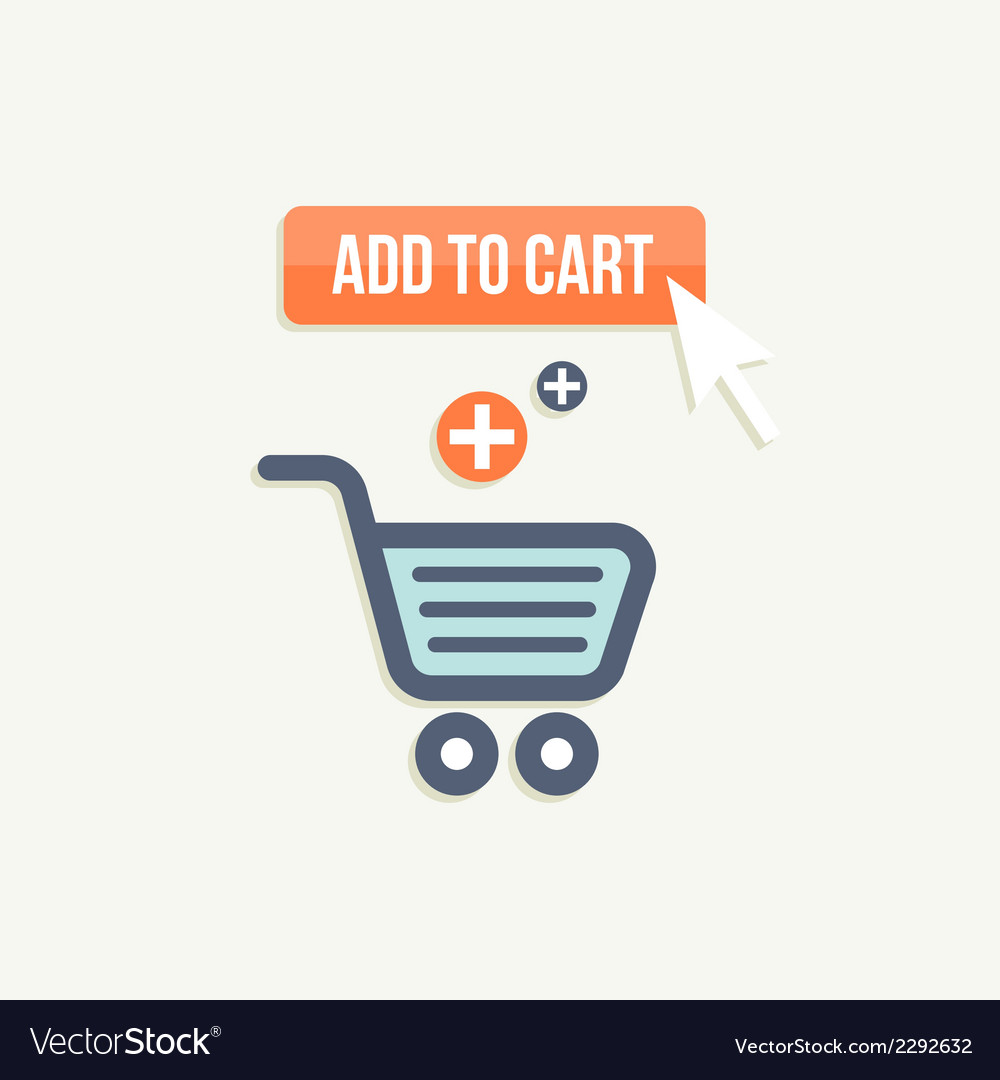 Add to cart vector | Price: 1 Credit (USD $1)