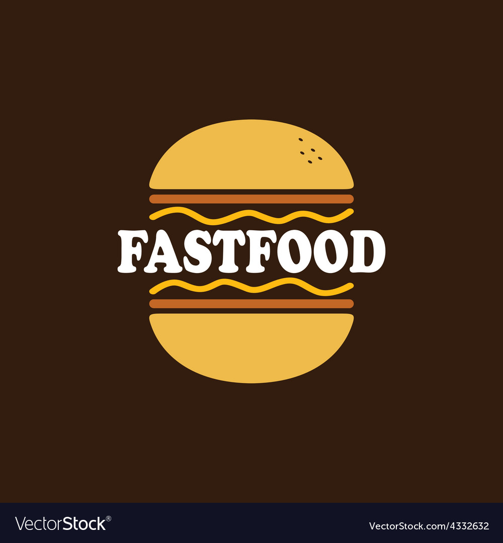 Fastfood pattern vector | Price: 1 Credit (USD $1)