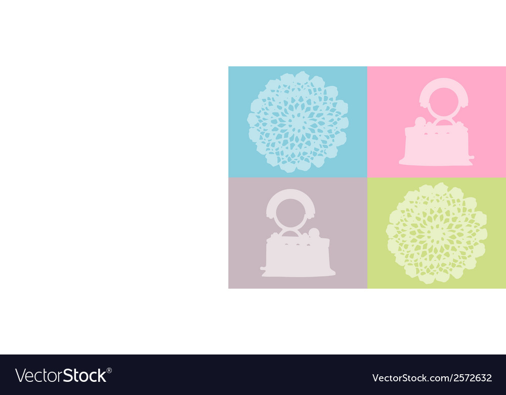 Flat iron and crochet work vector | Price: 1 Credit (USD $1)