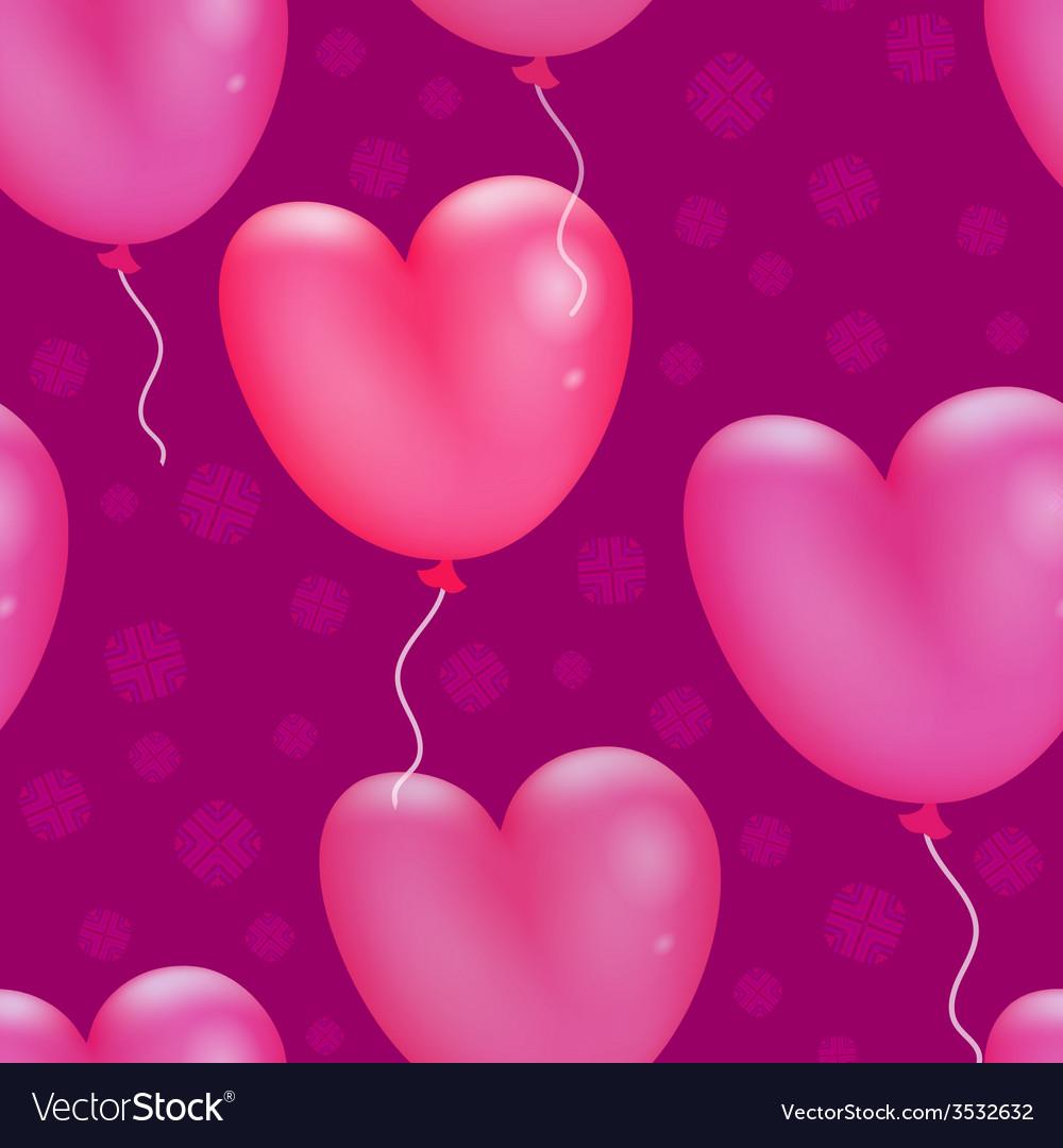 Happy valentines day pattern vector | Price: 1 Credit (USD $1)