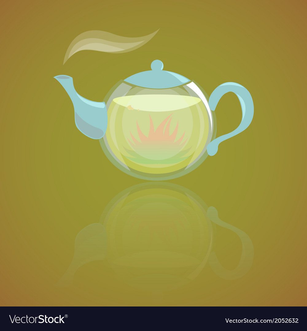 Herbal tea vector | Price: 1 Credit (USD $1)