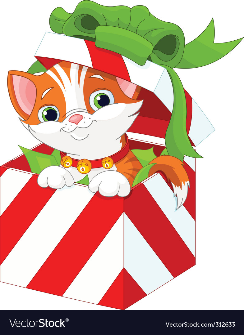Christmas gift box vector | Price: 3 Credit (USD $3)