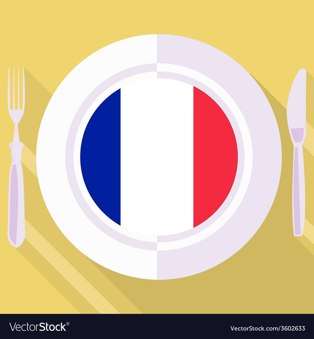 Kitchen of france vector | Price: 1 Credit (USD $1)