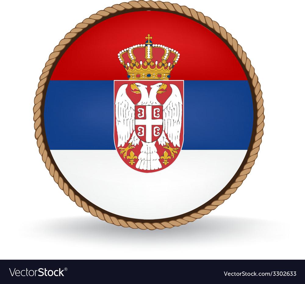 Serbia seal vector   Price: 1 Credit (USD $1)