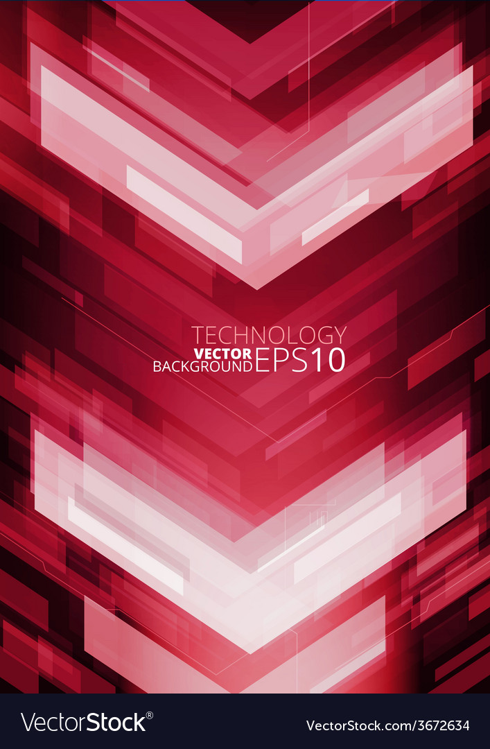 Abstract technology arrows vector   Price: 1 Credit (USD $1)