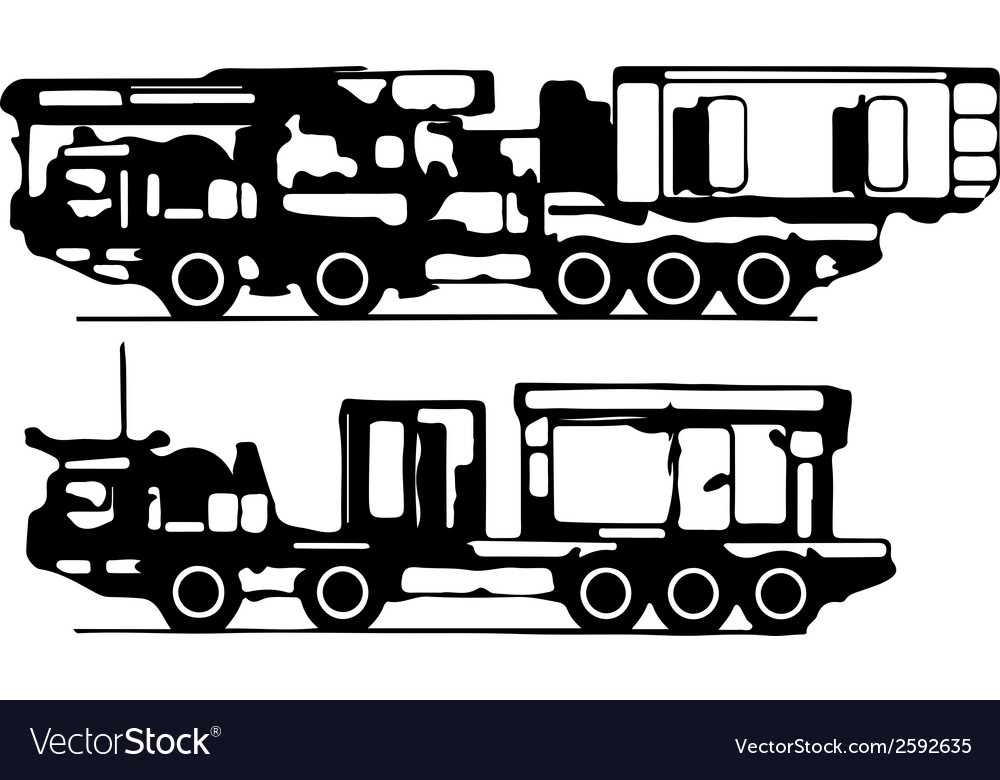 Classification of trucks silhouettes vector | Price: 1 Credit (USD $1)