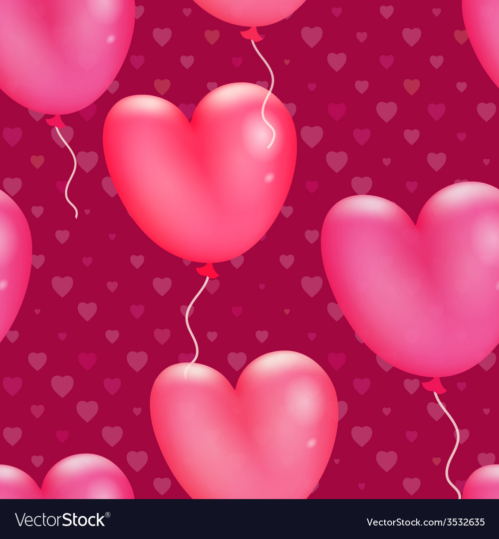 Happy valentines day pattern vector   Price: 1 Credit (USD $1)