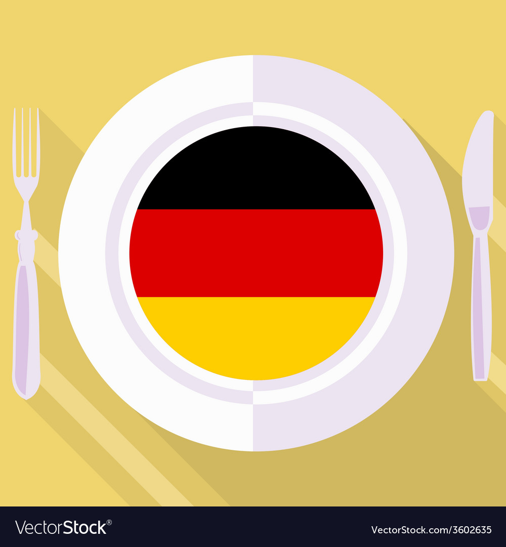 Kitchen of germany vector | Price: 1 Credit (USD $1)
