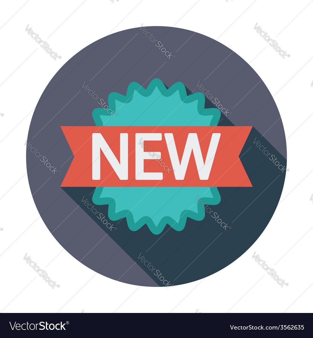 New icon vector | Price: 1 Credit (USD $1)
