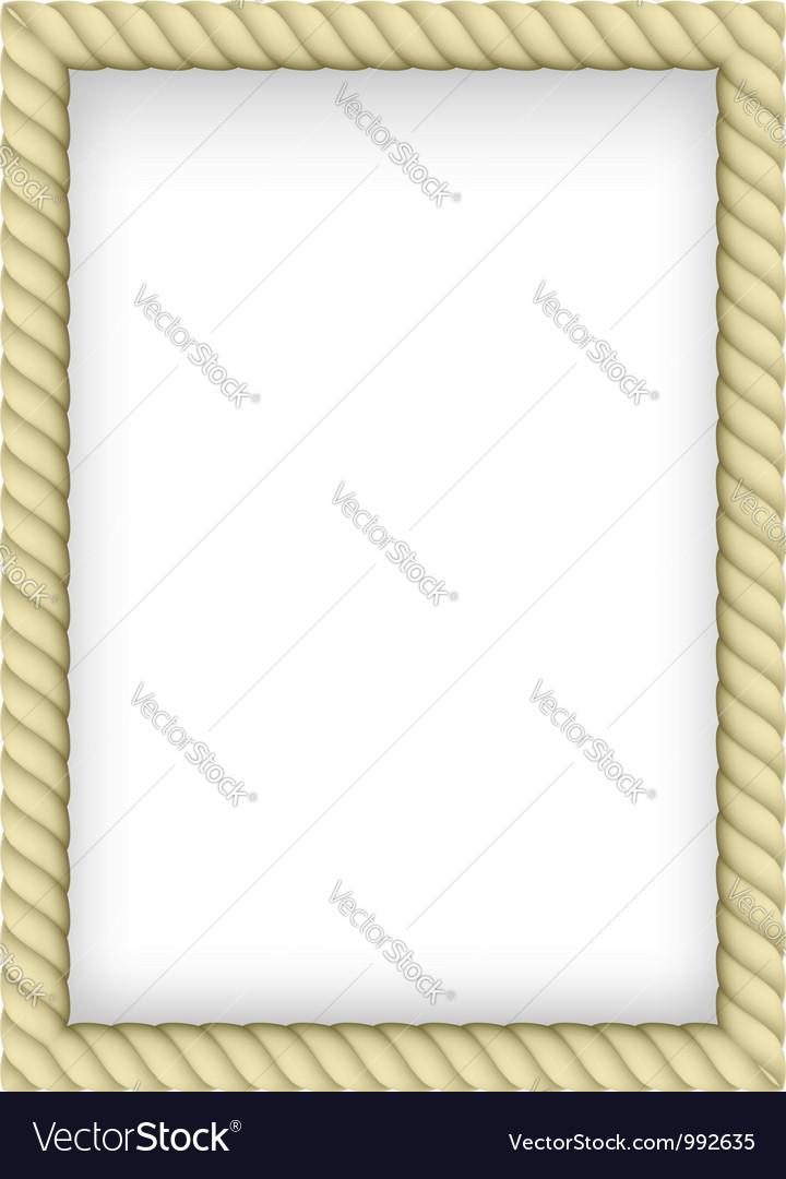 Rope border vector | Price: 1 Credit (USD $1)