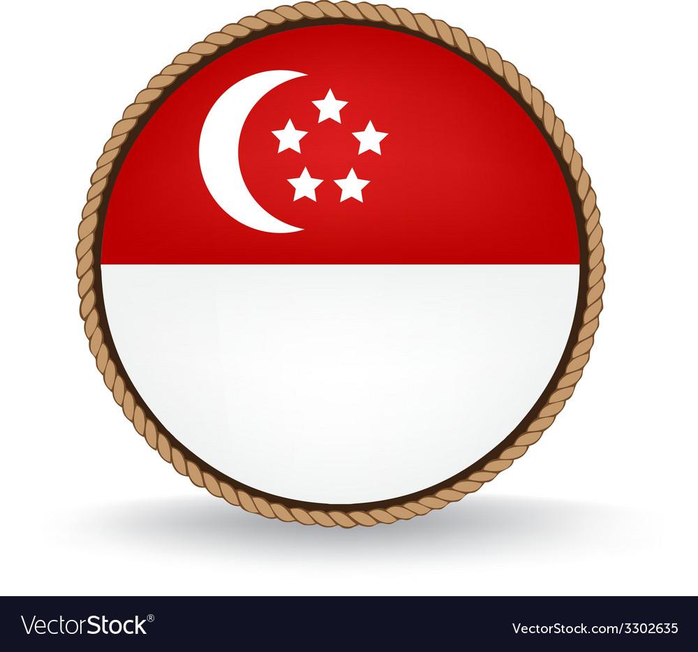 Singapore seal vector   Price: 1 Credit (USD $1)