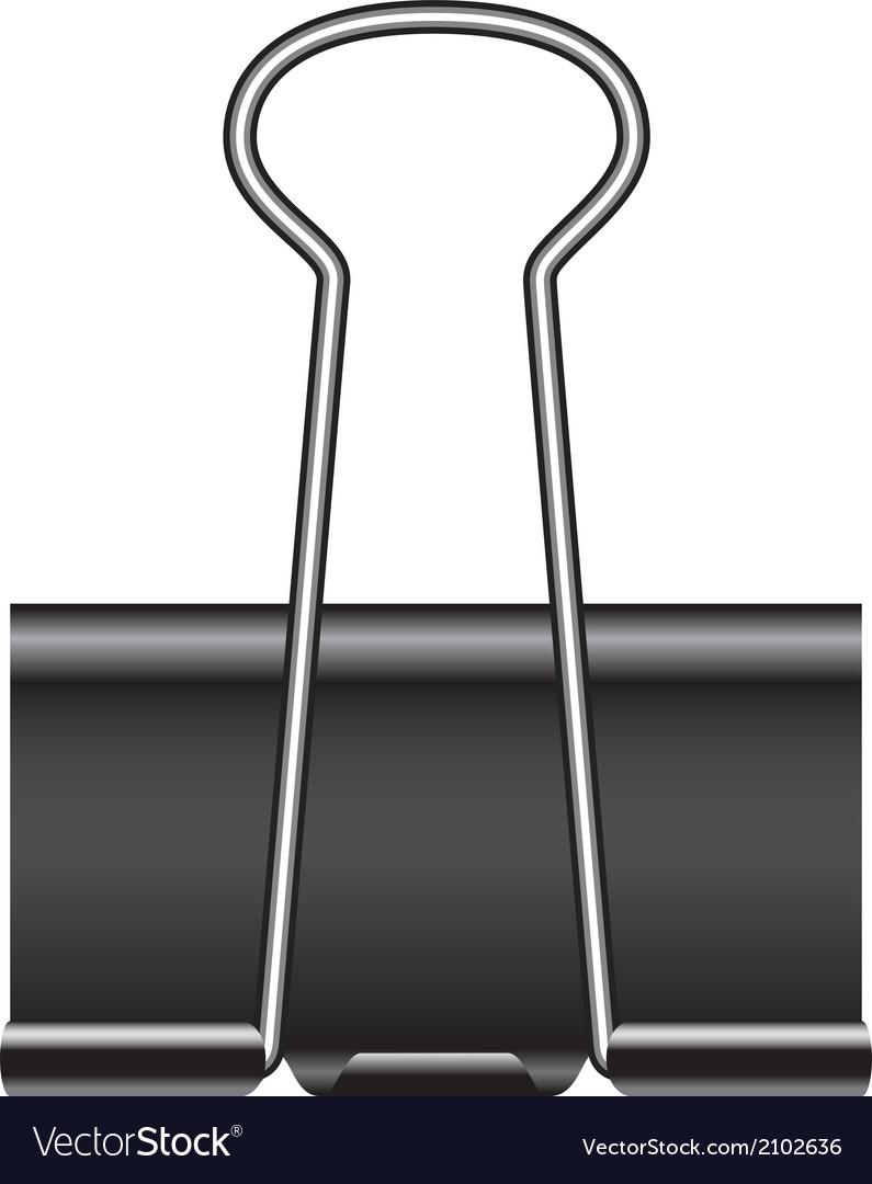 Binder clip vector   Price: 1 Credit (USD $1)