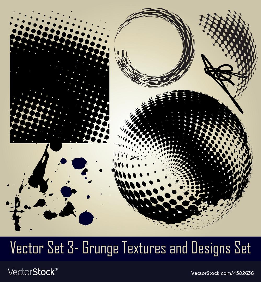 Grunge set vector | Price: 1 Credit (USD $1)
