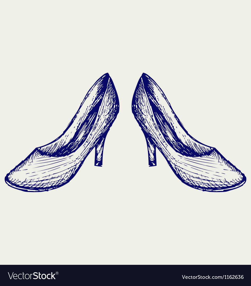 High heels vector | Price: 1 Credit (USD $1)