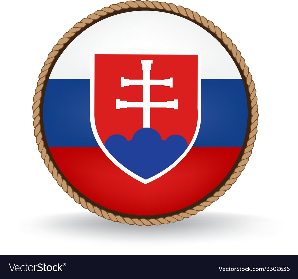 Slovakia seal vector | Price: 1 Credit (USD $1)