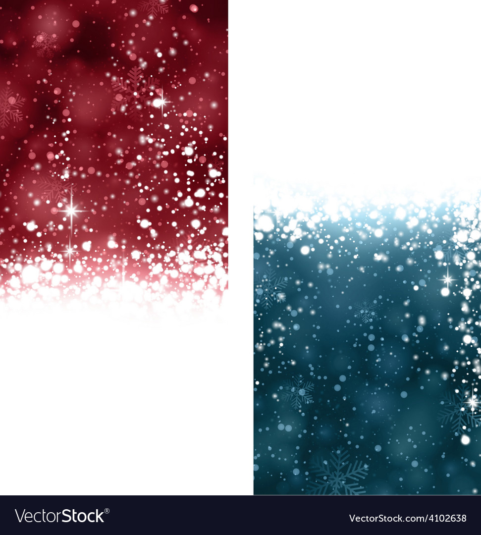 Christmas abstract banners vector | Price: 1 Credit (USD $1)