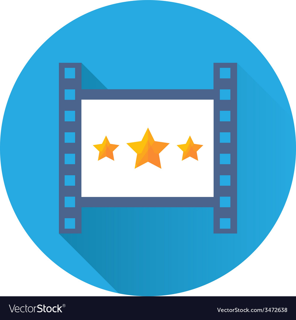 Cinema icon vector | Price: 1 Credit (USD $1)