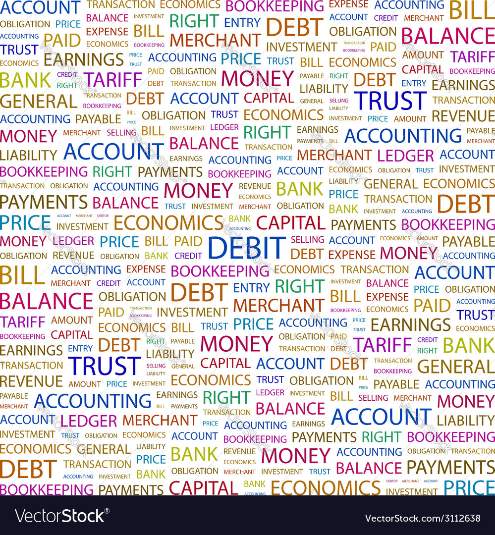 Debit vector   Price: 1 Credit (USD $1)
