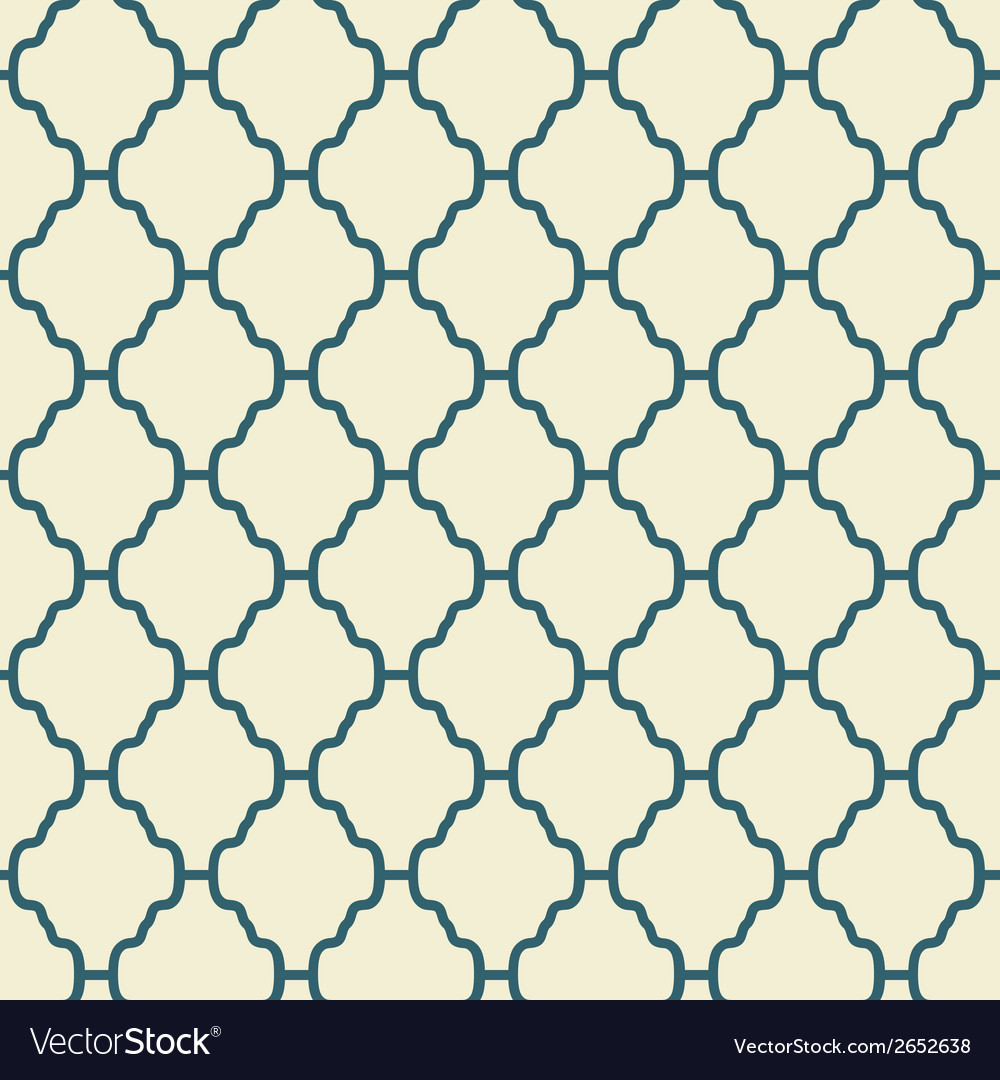 Elegant seamless pattern tiling vector | Price: 1 Credit (USD $1)
