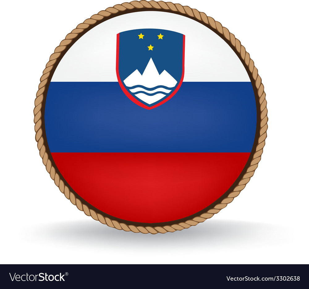 Slovenia seal vector | Price: 1 Credit (USD $1)