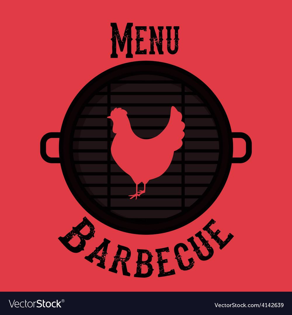 Barbecue design vector | Price: 1 Credit (USD $1)