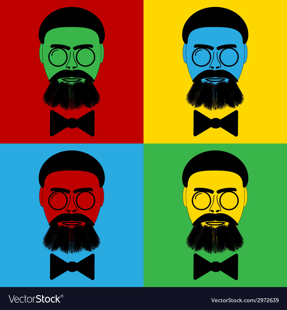 Hipster icons vector | Price: 1 Credit (USD $1)