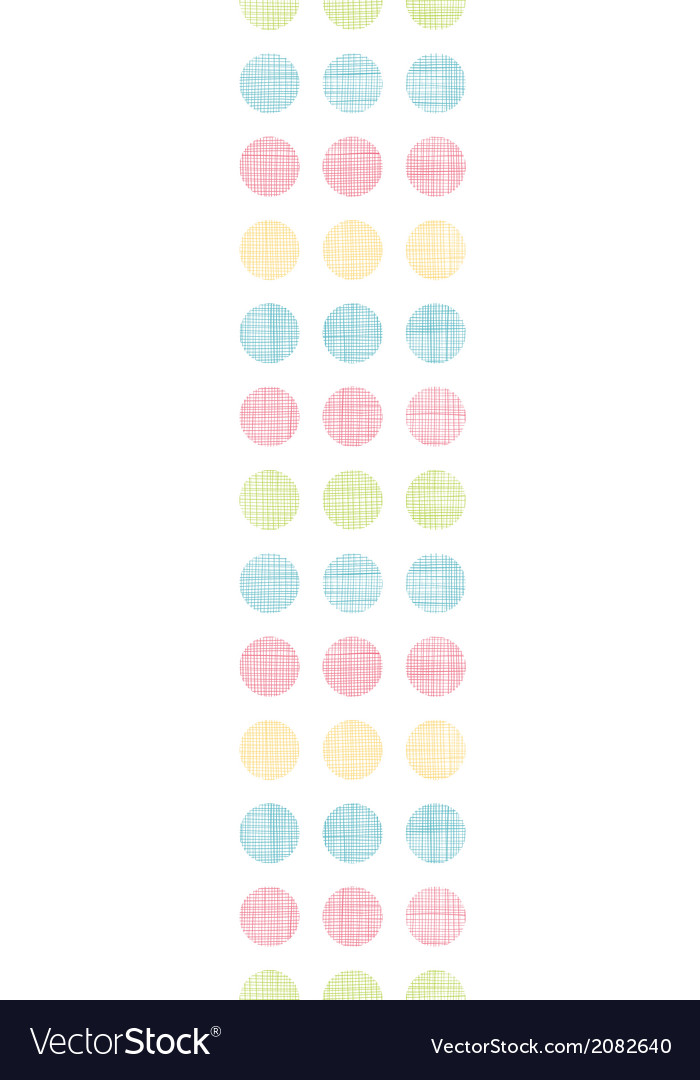 Abstract textile polka dots stripes vertical vector | Price: 1 Credit (USD $1)