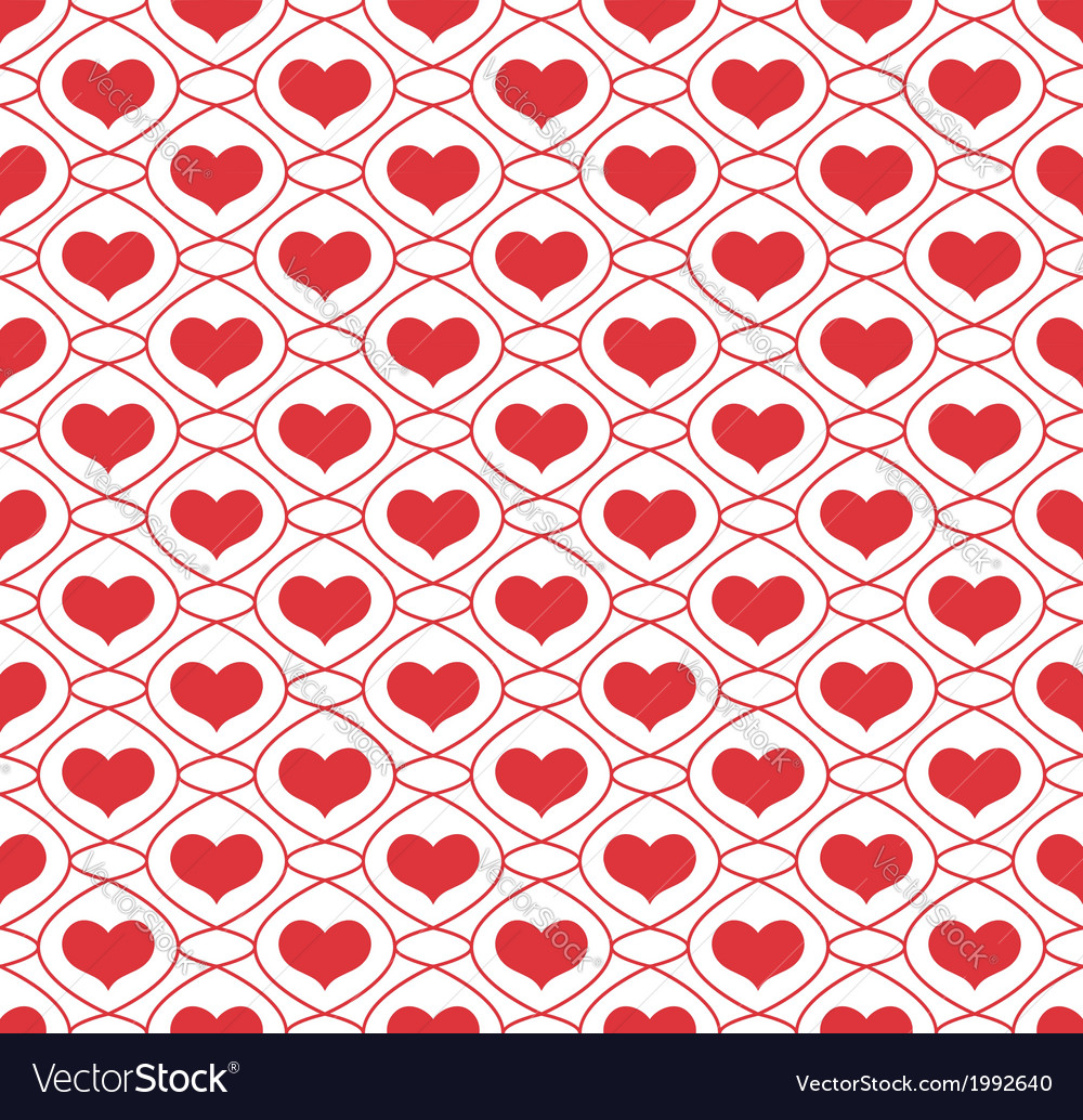 Background with repeating hearts vector | Price: 1 Credit (USD $1)