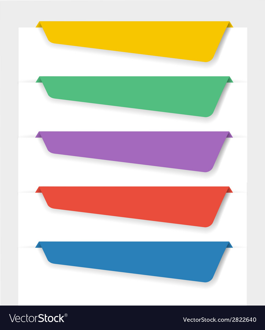 Bookmarks vector | Price: 1 Credit (USD $1)