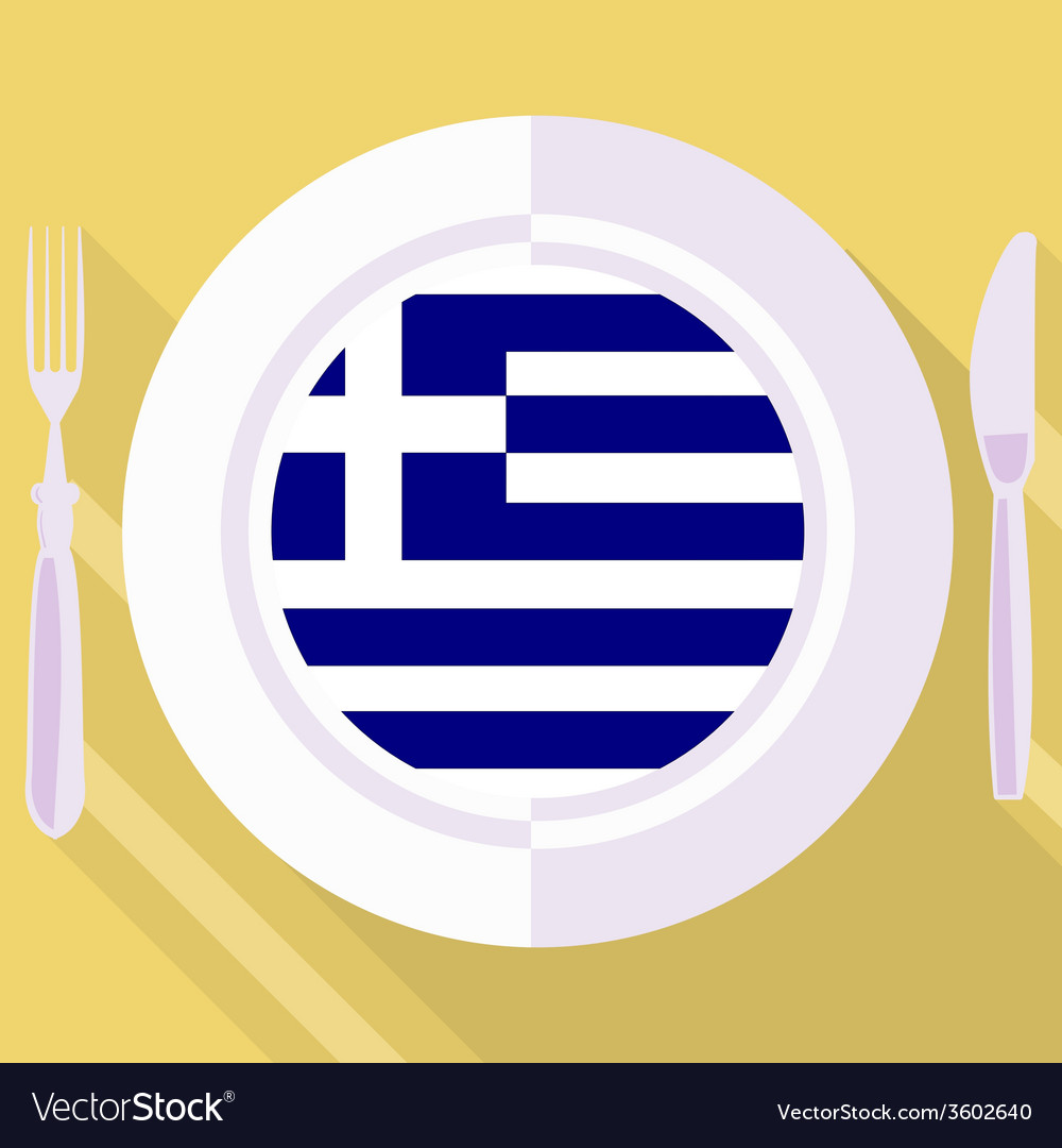 Kitchen of greece vector | Price: 1 Credit (USD $1)