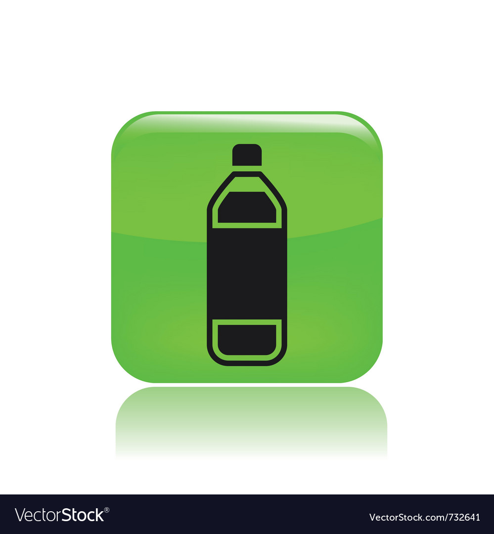 Bottle icon vector | Price: 1 Credit (USD $1)