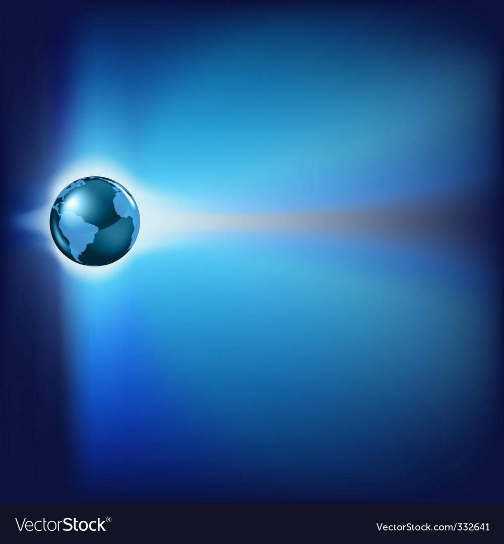 Futuristic world vector | Price: 1 Credit (USD $1)
