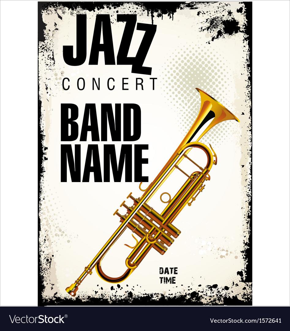 Jazz concert background vector | Price: 3 Credit (USD $3)