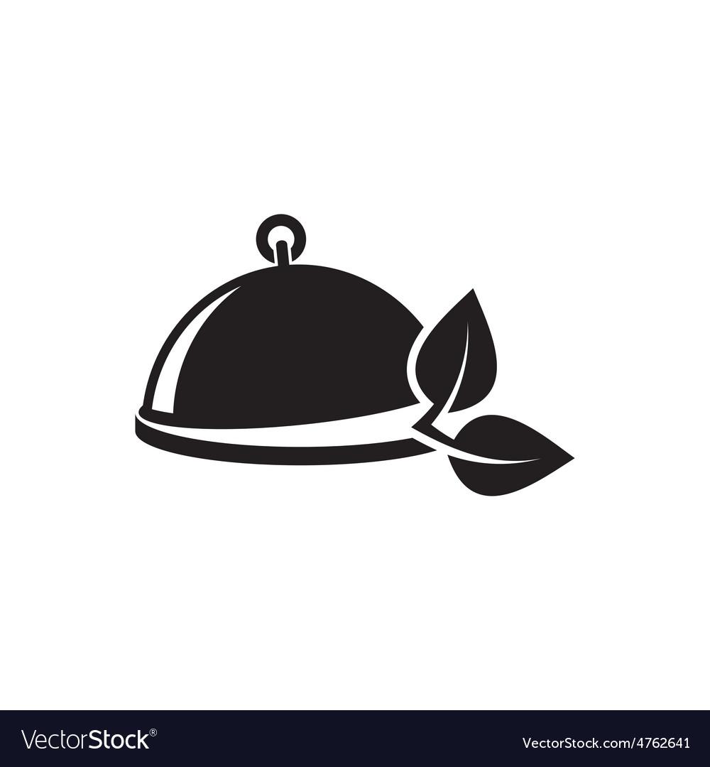 Vegetarian menu emblem vector | Price: 1 Credit (USD $1)