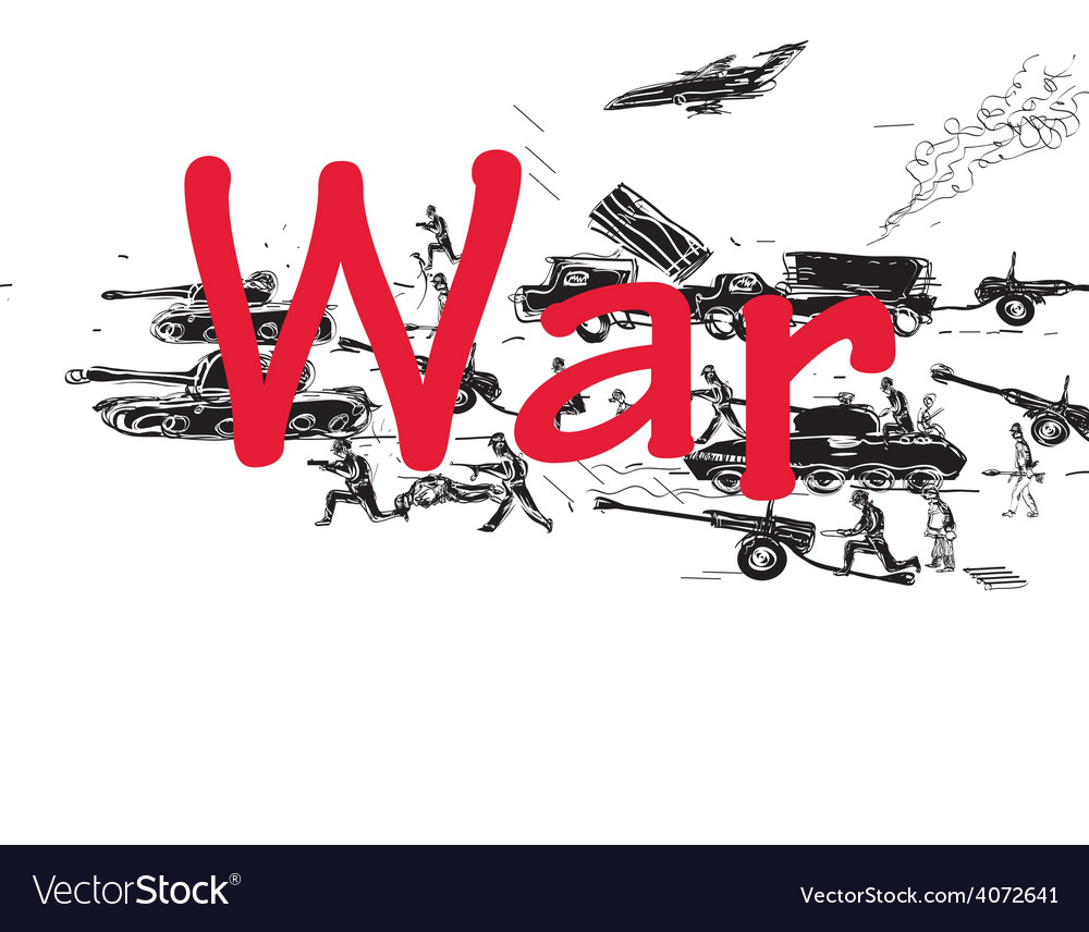 War pattern vector | Price: 1 Credit (USD $1)