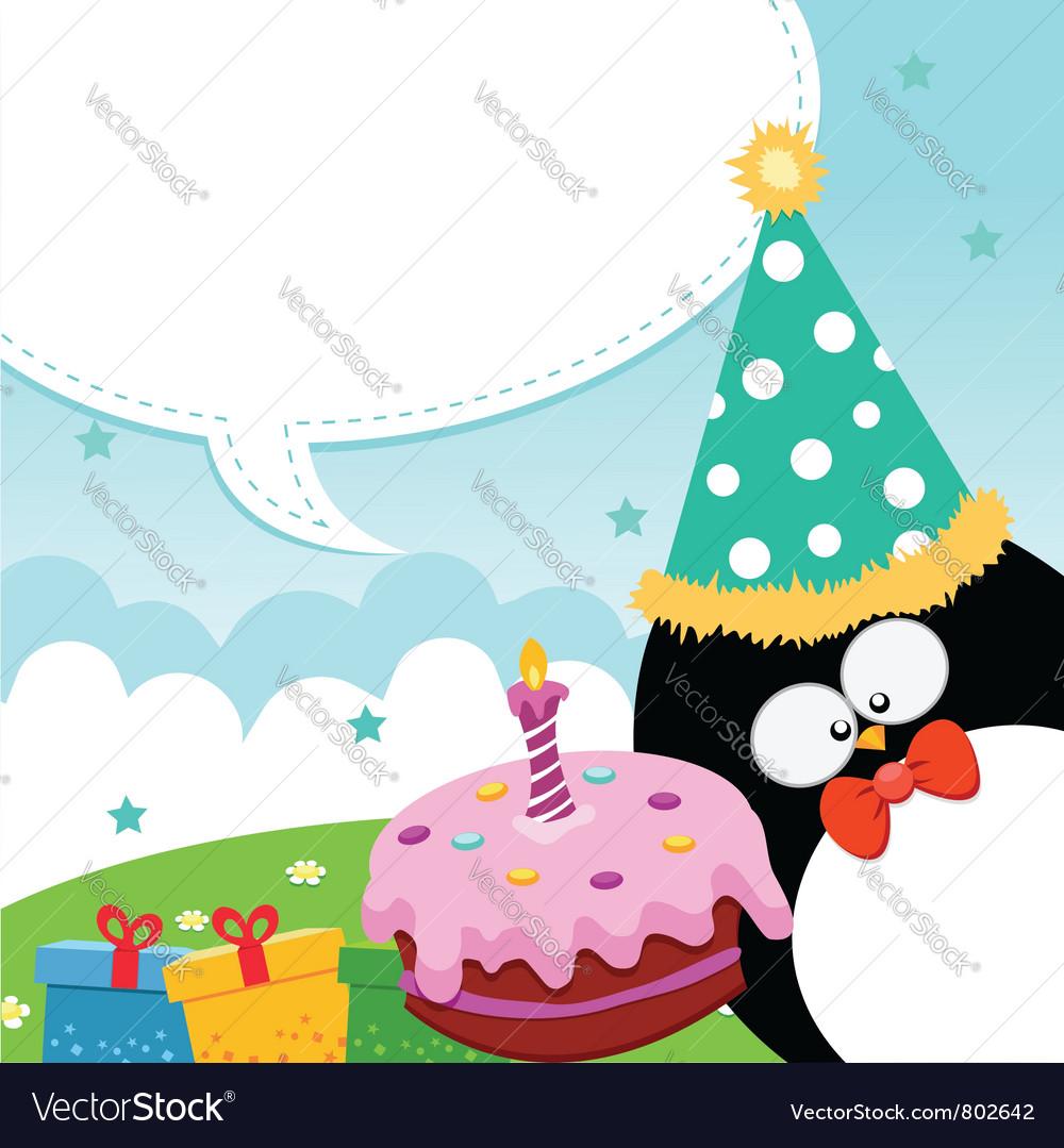 Birthday message vector | Price: 1 Credit (USD $1)