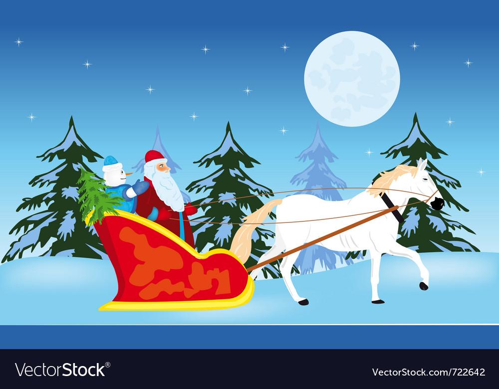 Fairy-tale santa claus vector   Price: 1 Credit (USD $1)