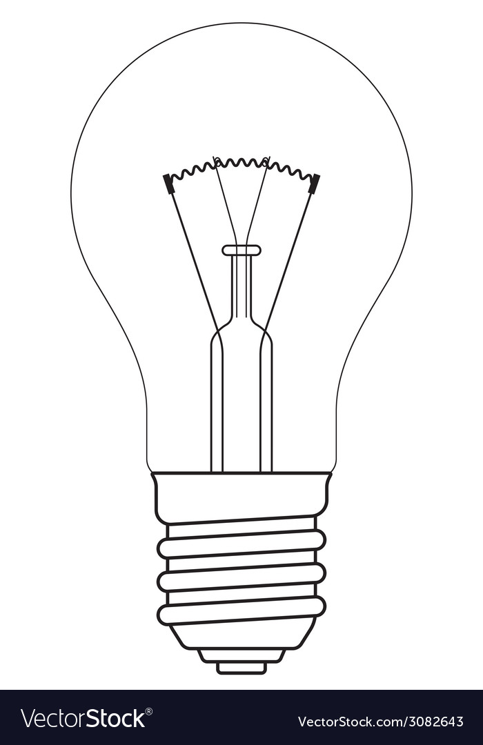 Contour lamp vector | Price: 1 Credit (USD $1)