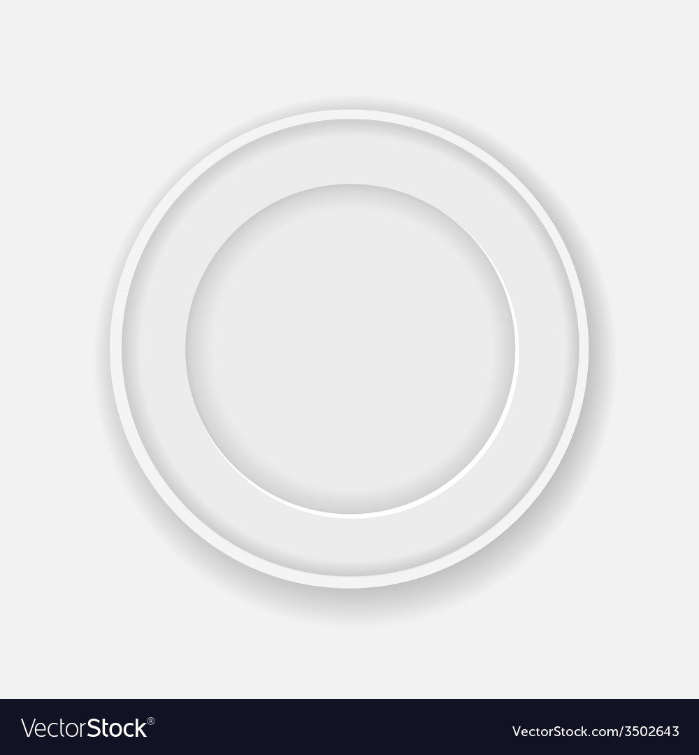 White circle frame for your photo or picture vector | Price: 1 Credit (USD $1)