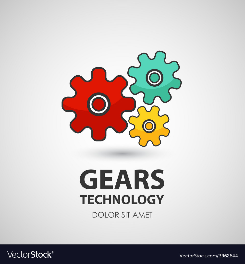 Gears icon business creative icon vector | Price: 1 Credit (USD $1)