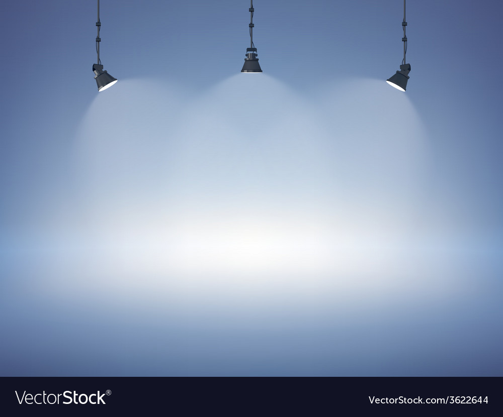 Spot light background vector | Price: 1 Credit (USD $1)